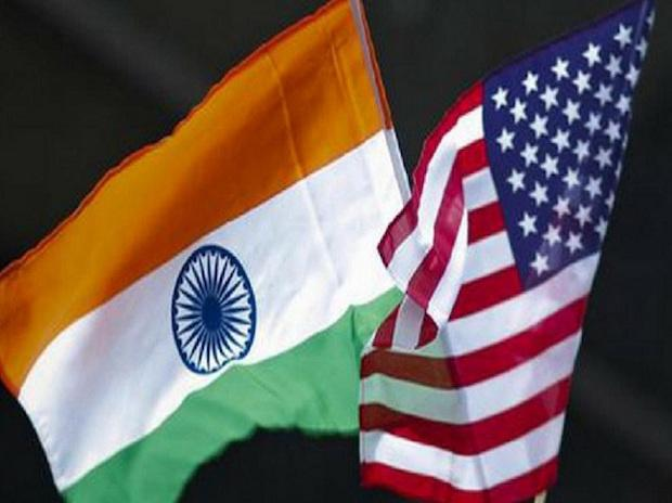 US And India Navy Flags